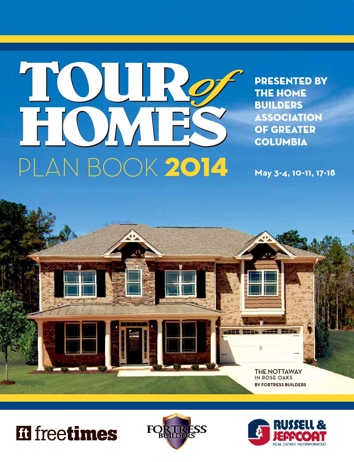 Issuu 2014 Tour Of Homes Planbook By Building Industry