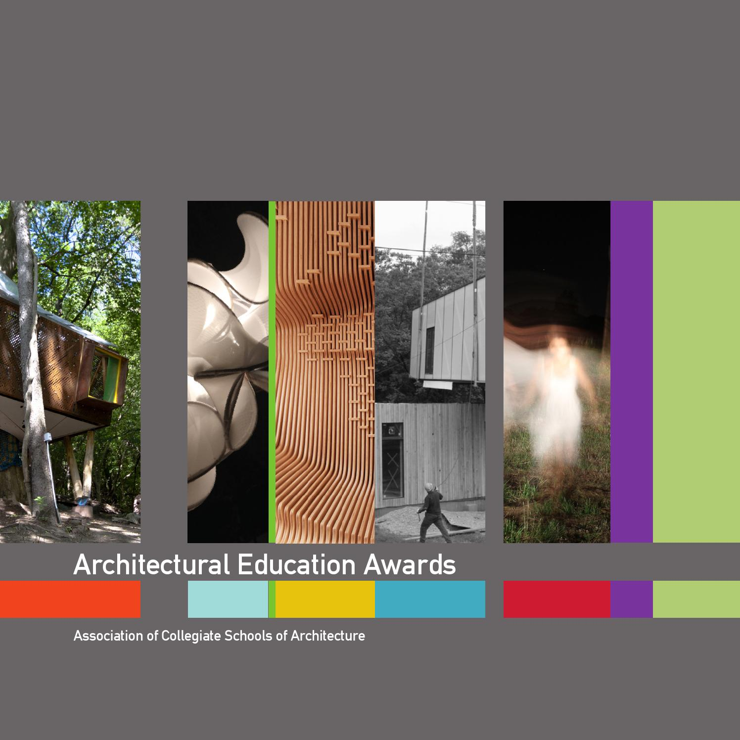 issuu   2013 14 acsa architectural education awards book