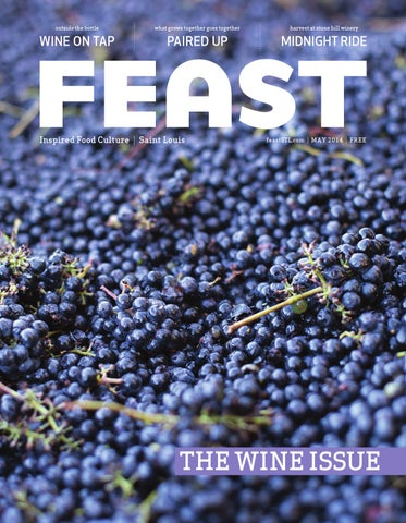 May 2014 Feast Magazine cover