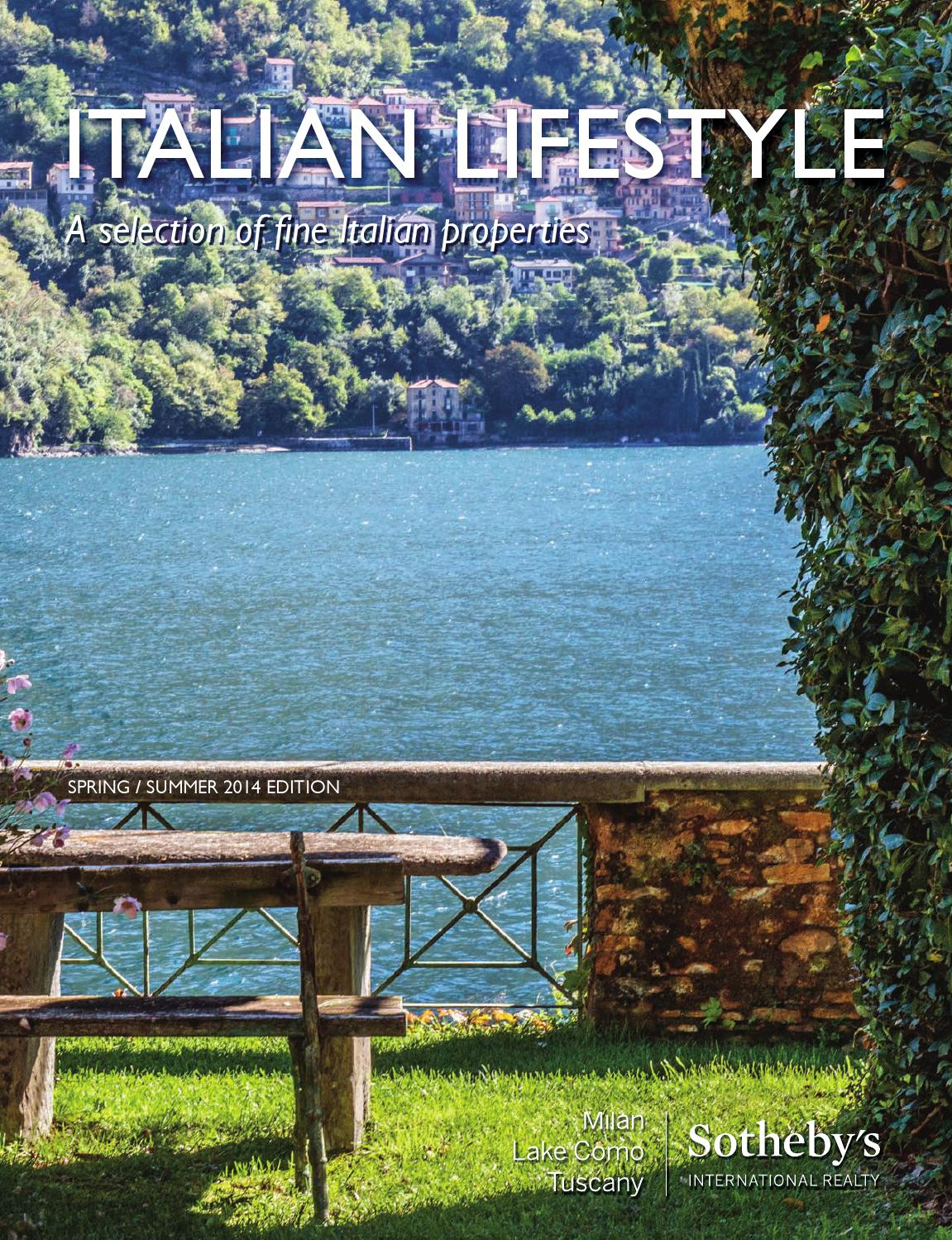 Issuu italian lifestyle ss 2014 by milan sotheby 39 s - Tuscany sotheby s international realty ...