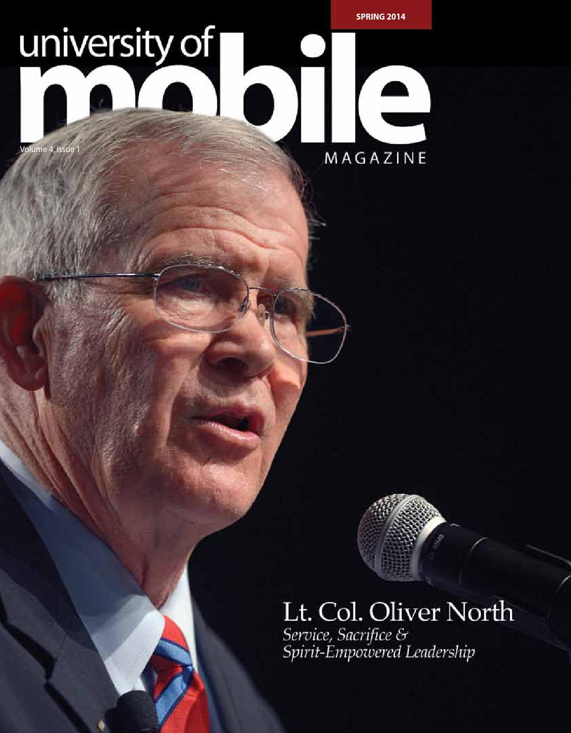 of mobile magazine spring 2014 issue by university of mobile