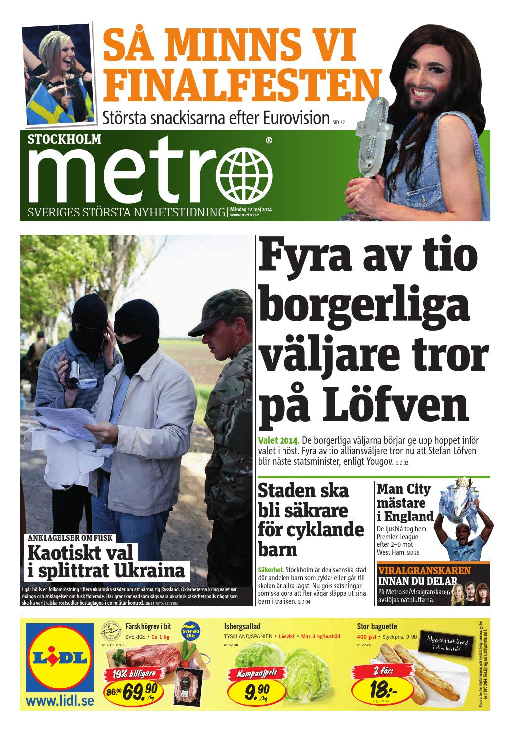 service fusk underkastelse i Stockholm