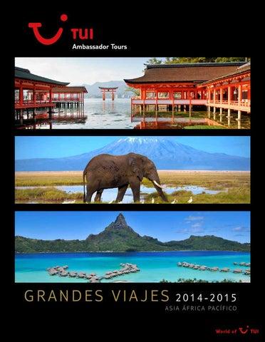 Viajes Asia, África, Pacífico 2014 - 2015