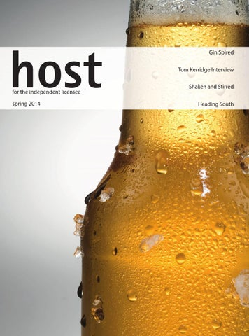 Host Magazine spring 2014 cover