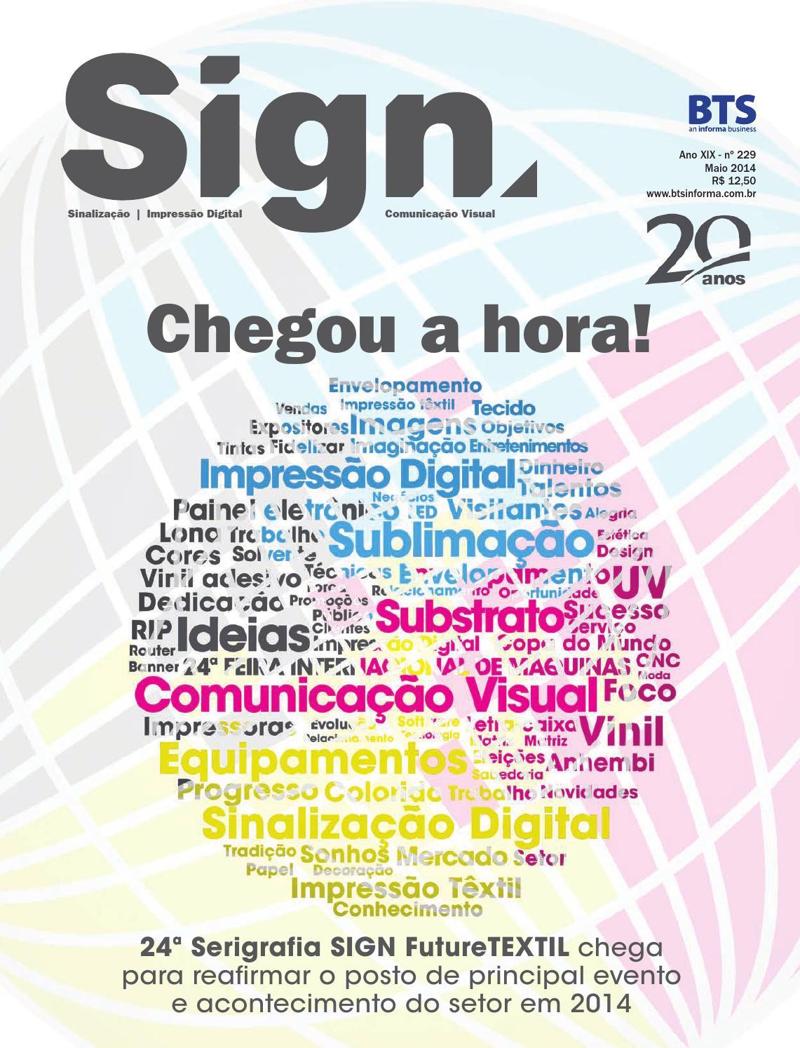 ISSUU - Revista sign ed 229 by BTS Informa