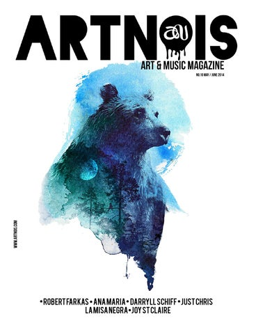 Artnois, Art & Music Issue 10 cover