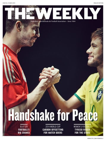 The FIFA Weekly Issue #30 cover