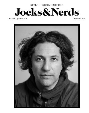 Jocks&Nerds Issue 10, Spring 2014 cover