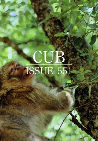 CUB 551 cover
