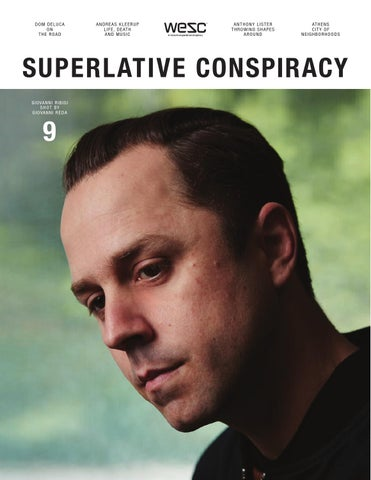 Superlative Conspiracy No 9 cover