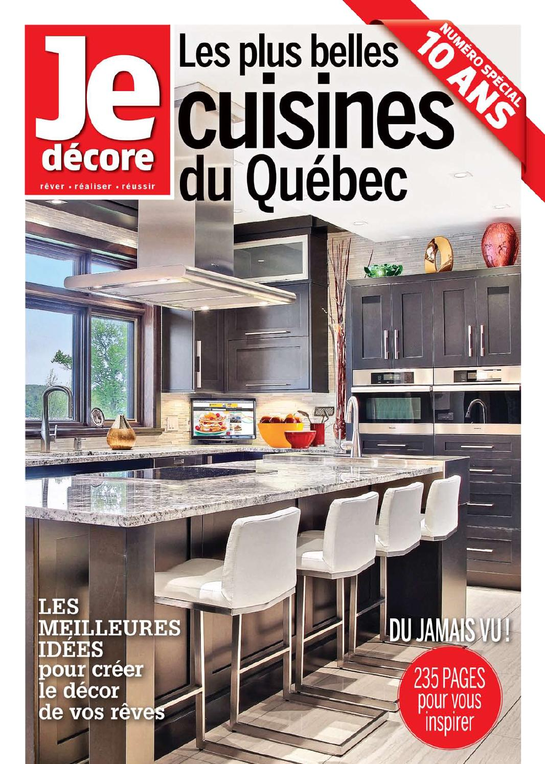 issuu je d core les plus belles cuisines du qu bec by ditions pratico pratiques. Black Bedroom Furniture Sets. Home Design Ideas