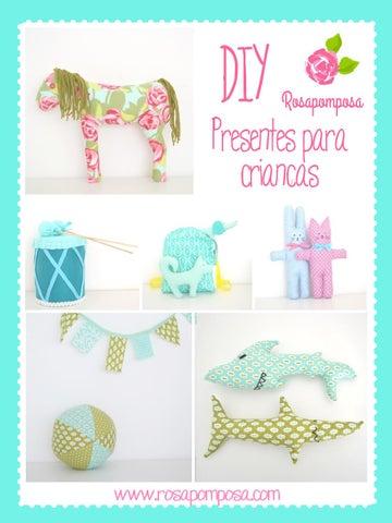 DIY presentes para crianças