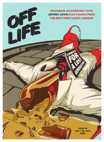 OFF LIFE issue nine cover