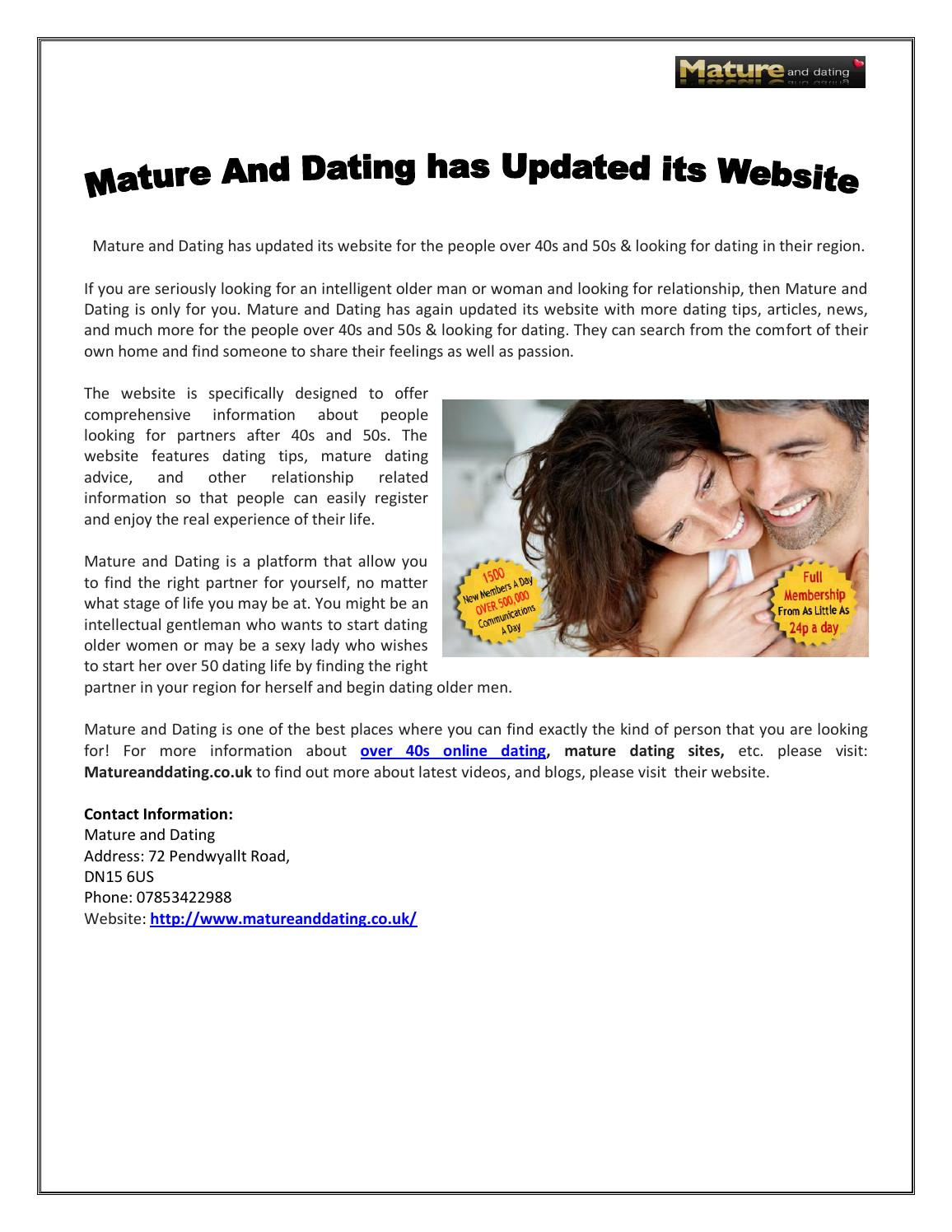 Dating sites after 50