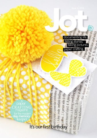 Jot Magazine - Issue 6 cover