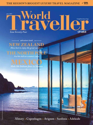 World Traveller June'14 cover