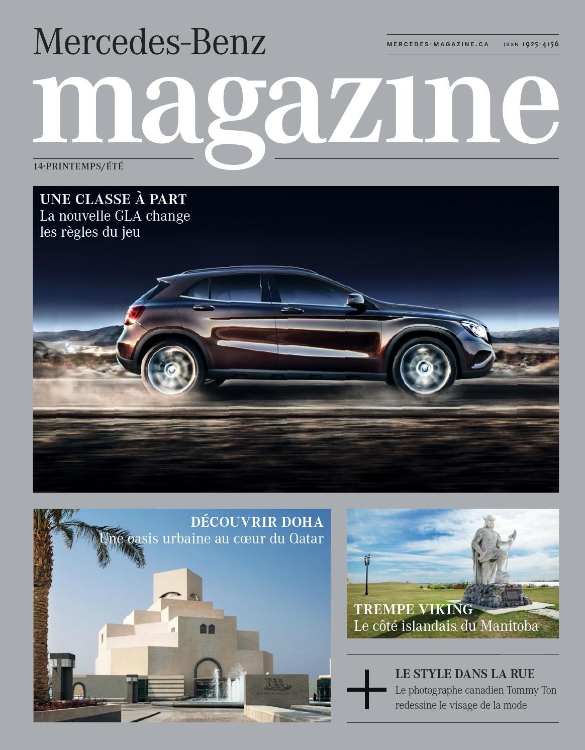 Issuu mercedes benz magazine by spafax for Mercedes benz magazine