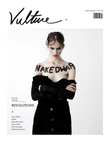 Vulture Magazine Issue 06: Uprising cover