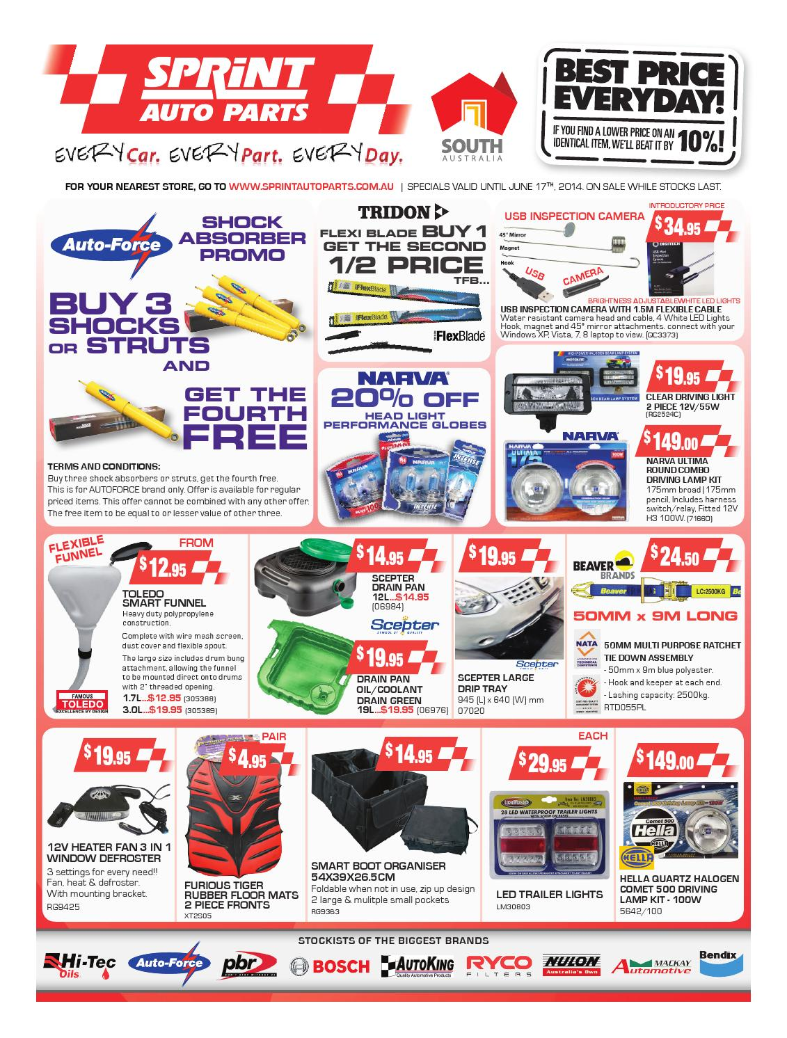 issuu   june retail catalogue 2014 by sprint auto parts