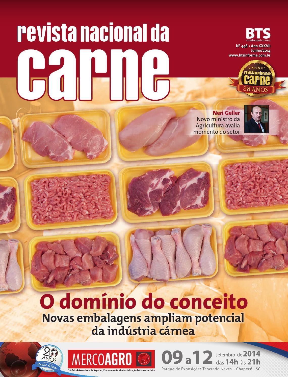 ISSUU - Revista nacional da carne ed 448 by BTS Informa