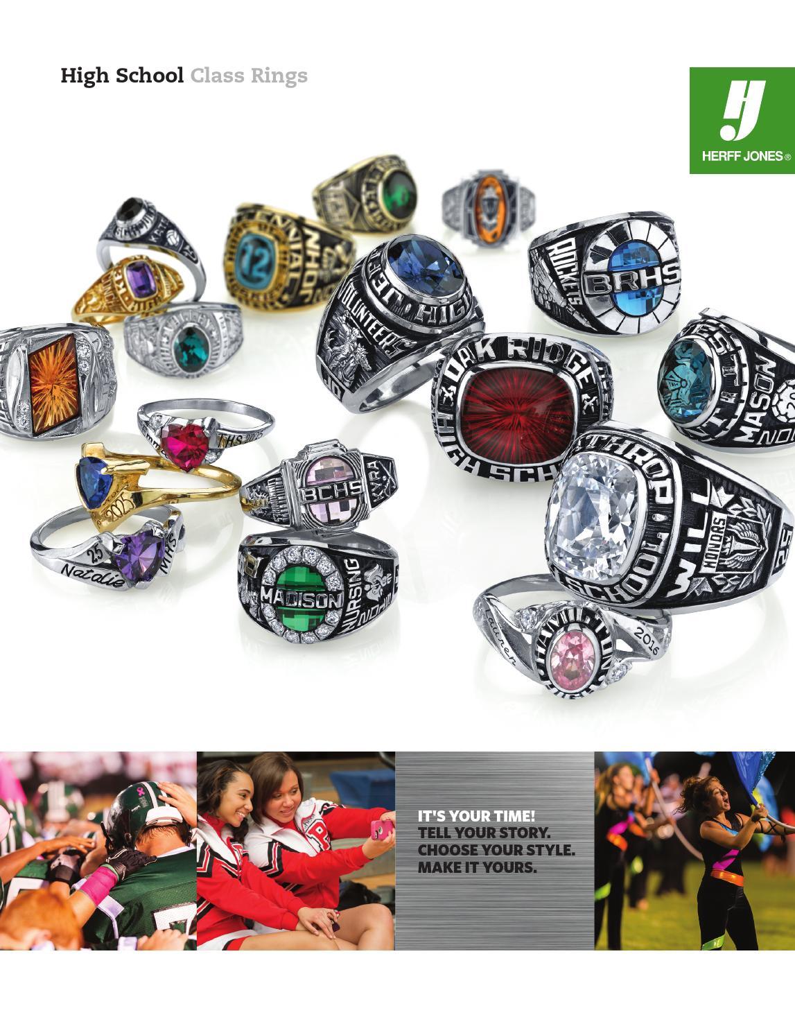 Alexandrite Class Ring Gold ISSUU - Herff Jones Class Ring