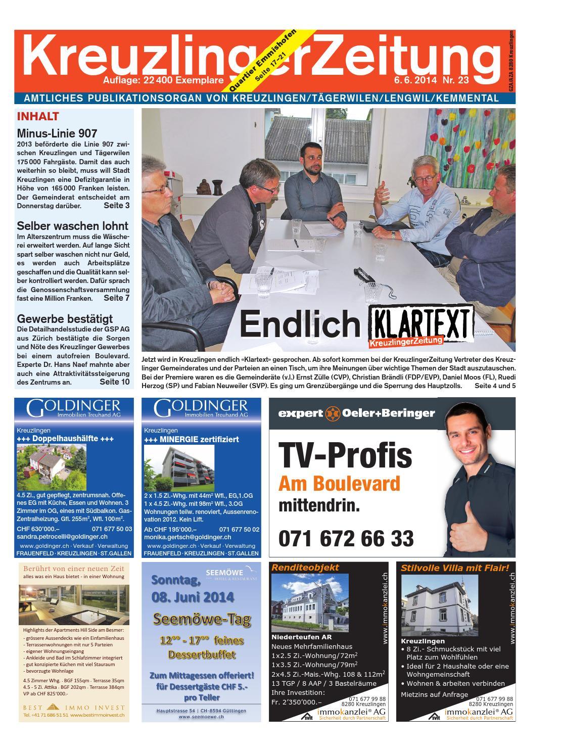 Issuu Klz 23 By Kreuzlingerzeitung