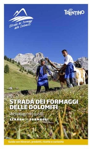 Guida Strada dei formaggi delle Dolomiti