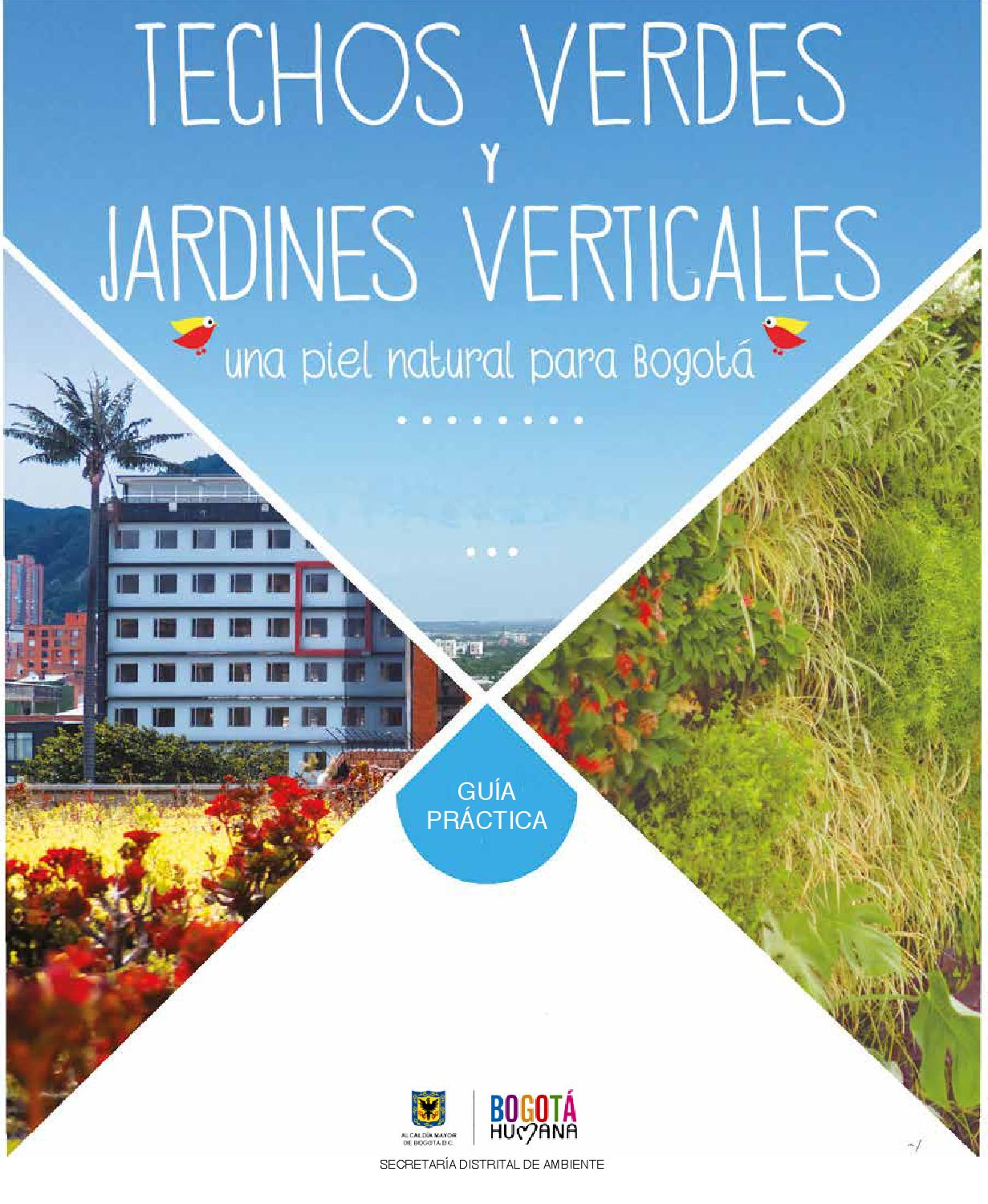 Issuu guia de techos verdes y jardines verticales by Techos verdes y jardines verticales