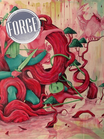 FORGE. Issue 2: Solace cover