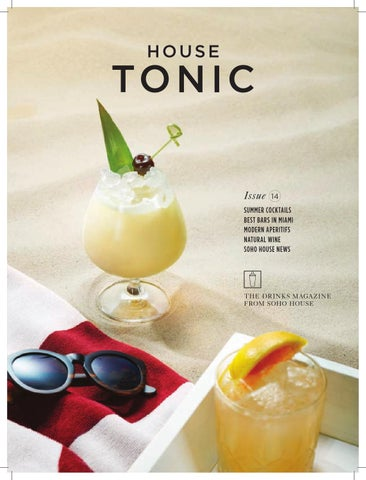 House Tonic Summer 2014 cover
