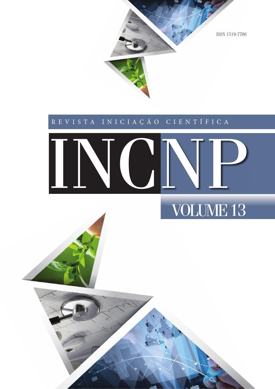 ISSUU - Inc volume 13 by Núcleo de Publicações Acadêmicas Newton ...