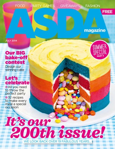 Asda july 2014 cover