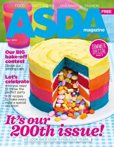 Asda july 2014 cover