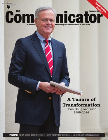 Cover of the most recent edition of The Communicator magazine.