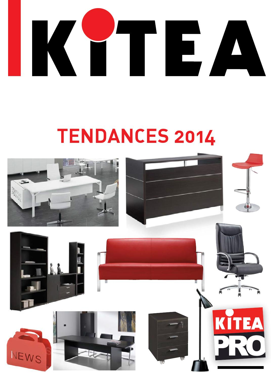 Issuu catalogue kitea maroc pro tendances 2014 by for Catalogue bureau