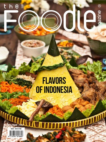 THE FOODIE MAGAZINE July 2014 cover