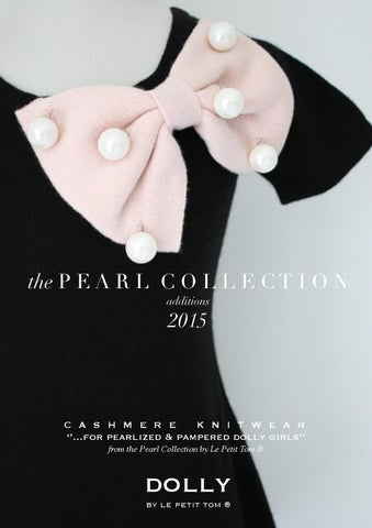DOLLY Cashmere Pearl collection 2015 additions