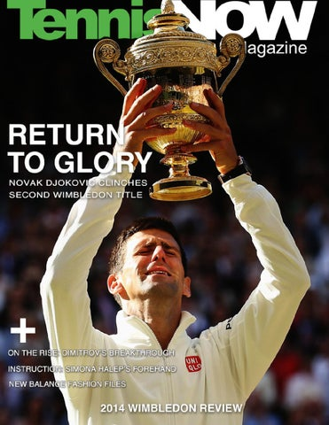 2014 Wimbledon Review cover