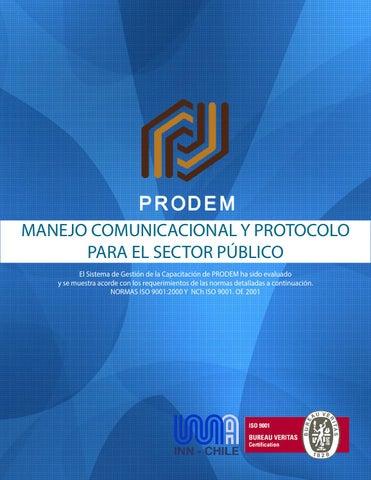 Manejo comunicacional y protocolo
