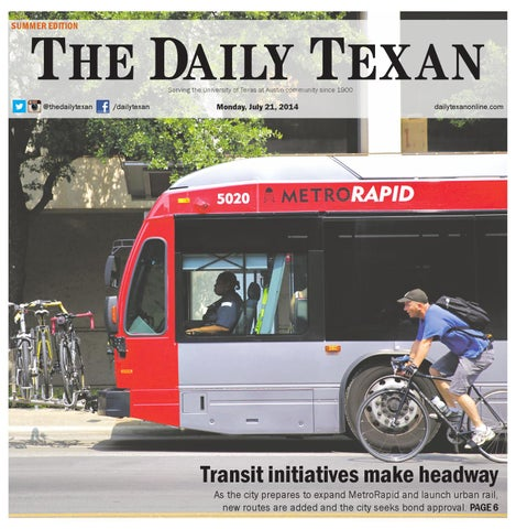 Issue for July 21, 2014