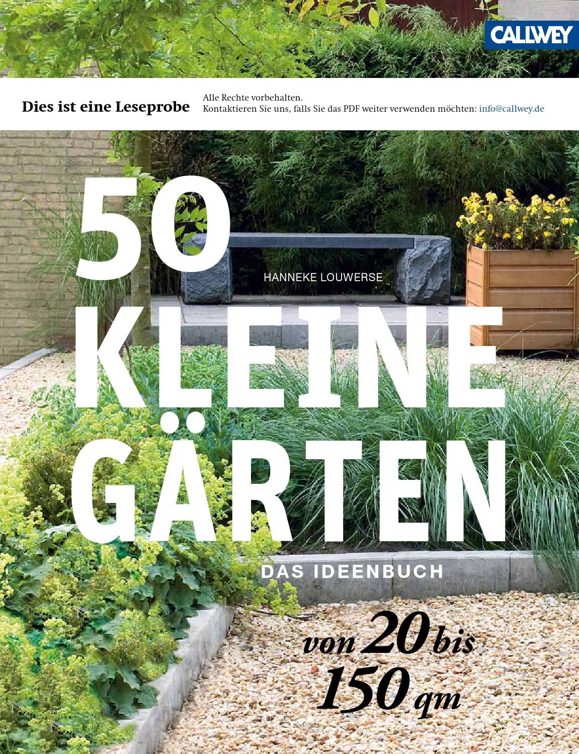 louwerse 50 kleine gaerten callwey issuu by georg d w. Black Bedroom Furniture Sets. Home Design Ideas