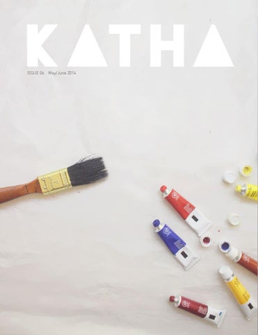 Katha Magazine Issue 06 - Jul/Aug 2014: Local Colors cover
