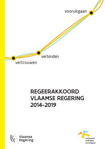 Regeerakkoord van de Vlaamse Regering 2014-2019