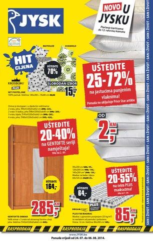 JYSK novi katalog i novi popusti do 72%