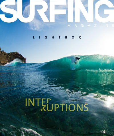 SURFING Magazine, LightBOX No. 6, interruptions cover