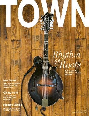 TOWN August 2014 cover