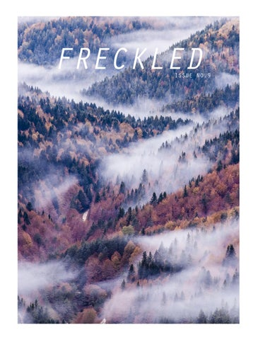 Freckled Magazine Issue No.9 cover