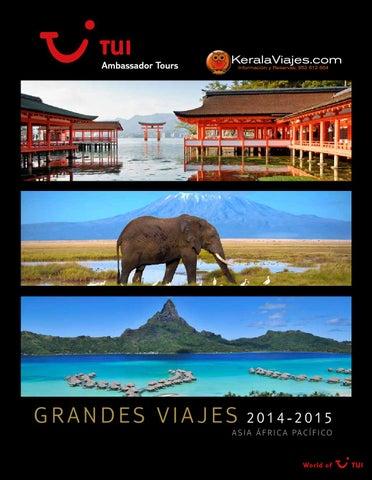 Mayoristas de Viajes Tui ambassador asia africa pacifico 2014 2015