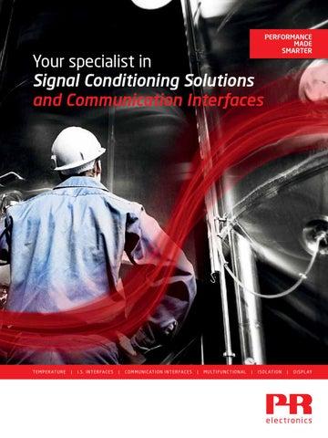 Pr electronics company brochure