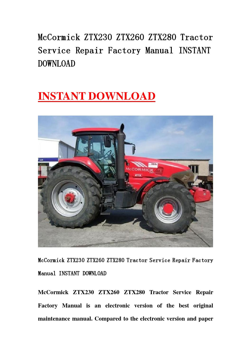 If you 2019re interested in this used mccormick tractor